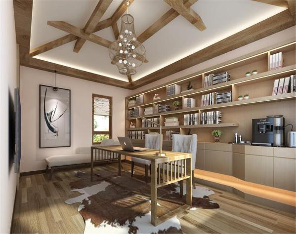 宝华栎庭别墅户型装修美式风格设计方案展示,上海腾龙别墅设计师曹晖作品,欢迎品鉴!