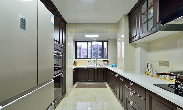 厨房图片来自家装大管家在高雅的人生 163平法式新古典3居的分享