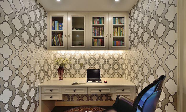 书房图片来自家装大管家在高雅的人生 163平法式新古典3居的分享