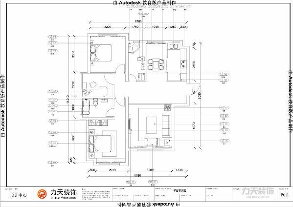 本案为远洋城k2户型三室二厅二卫128㎡户型。本案的风格定义为新中式风格。