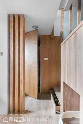 一房 简约 北欧 休闲 收纳 其他图片来自幸福空间在坐拥河岸绿意25平挑高慢活空间的分享