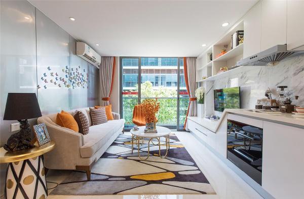 loft公寓户型装修现代风格设计方案展示,上海腾龙别墅设计,精品家装装修全案系统专家,欢迎品鉴!