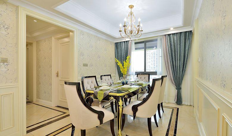 餐厅图片来自家装大管家在高雅的人生 163平法式新古典3居的分享