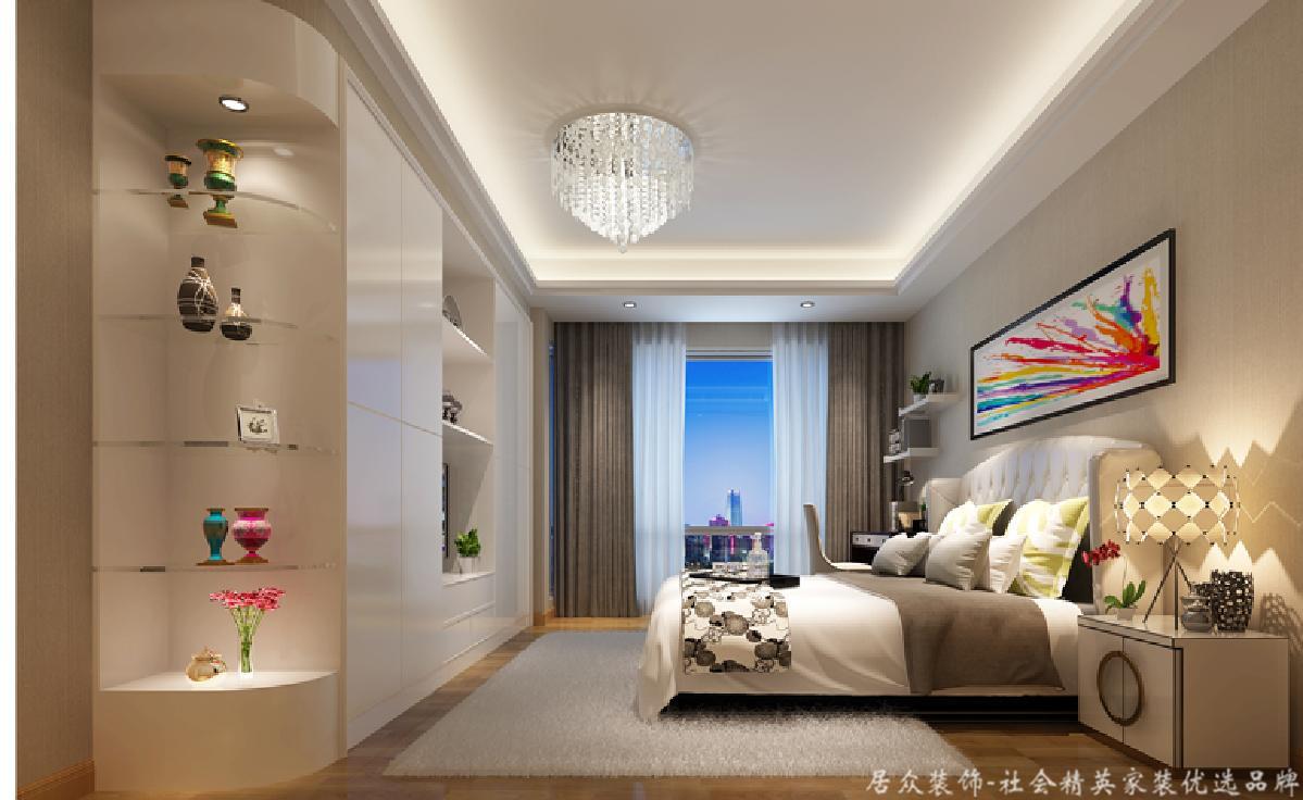 欧式 小资 卧室图片来自gz居众装饰在雅宝新城名居的分享