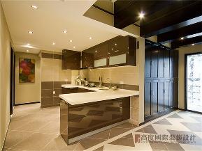 新中式 中式 四居 小资 白领 厨房图片来自沙漠雪雨在160平米新中式体味浪漫东方韵味的分享