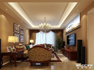 南熙福邸165平四室中式装修方案