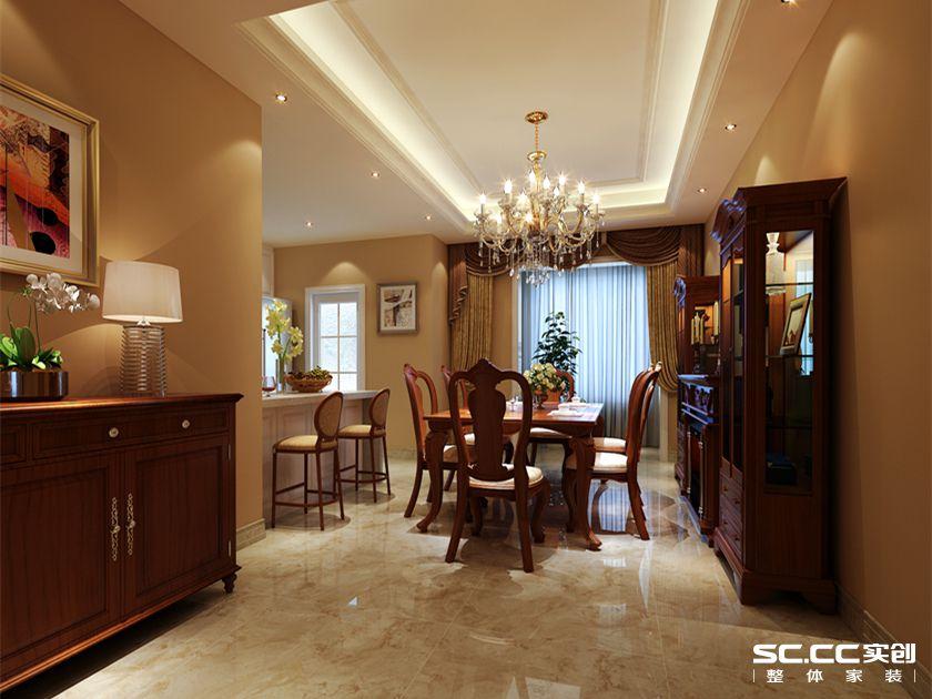 餐厅图片来自用户2652703143在南熙福邸165平四室中式装修方案的分享