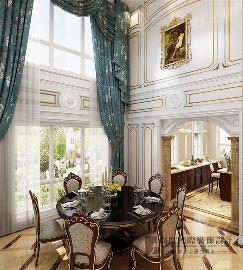 绿城富春玫瑰园-300平方欧式风格