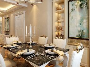 欧式 简约 三居 小清新 餐厅图片来自tjsczs88在清新浪漫,温馨简欧的分享