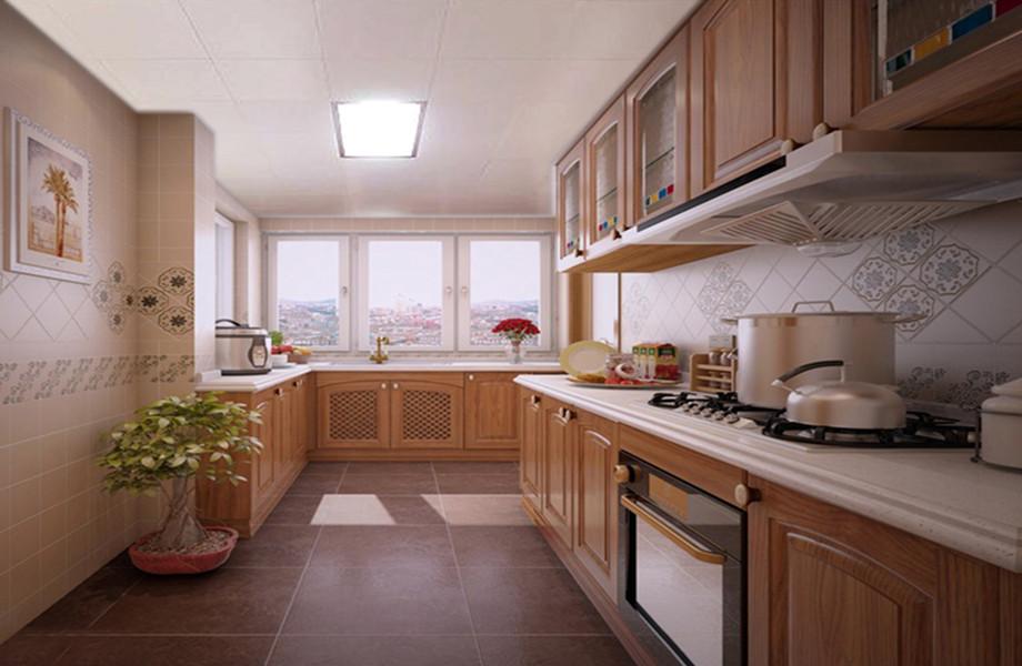 厨房图片来自装家美在奥龙湾152平米新中式风格的分享