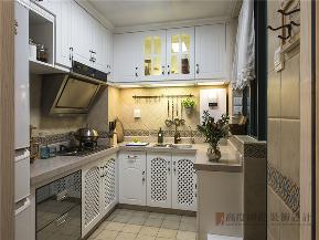 地中海 三居 白领 收纳 小资 厨房图片来自沙漠雪雨在115平米地中海艳阳高照纯美自然的分享