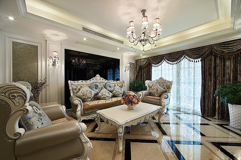 欧式 三居 客厅图片来自tjsczs88在清雅简约,温馨欧式的分享