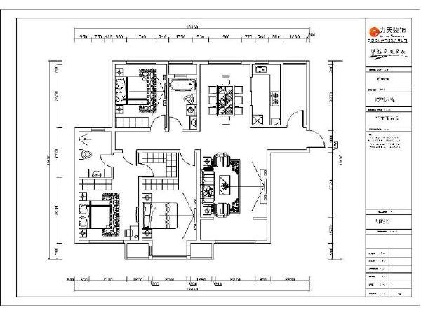 户型结构基本合理没有要拆改的地方。一进入户看到的是一条狭长的过道,紧接着过道两侧是客餐厅的划分区域。