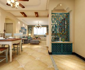 地中海 玄关图片来自乐豪斯装饰马志在紫林湾装修效果图的分享