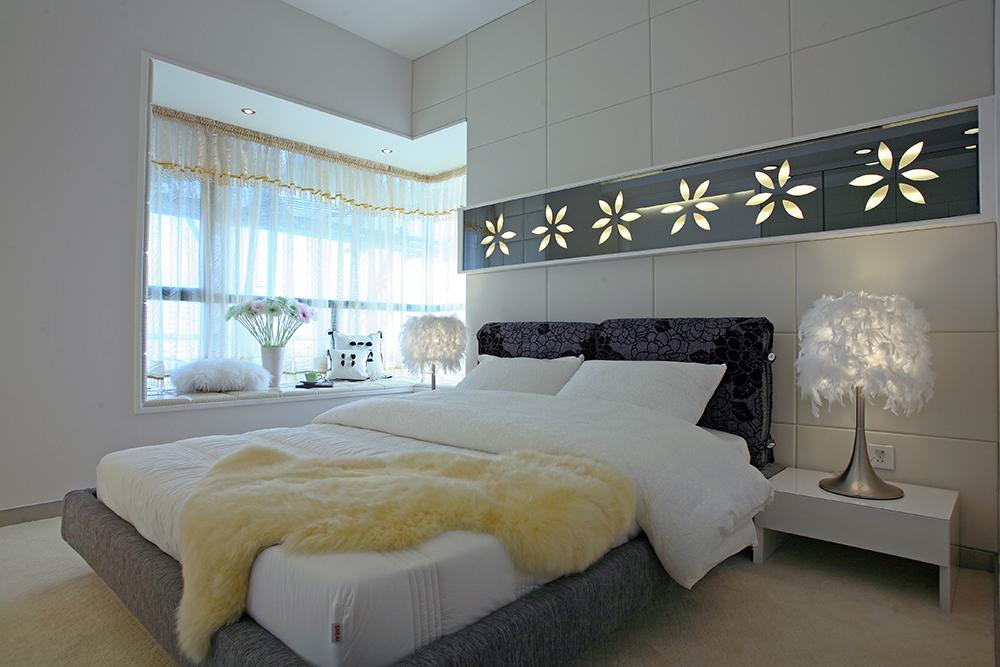 卧室图片来自武汉苹果装饰在清江泓景案例的分享