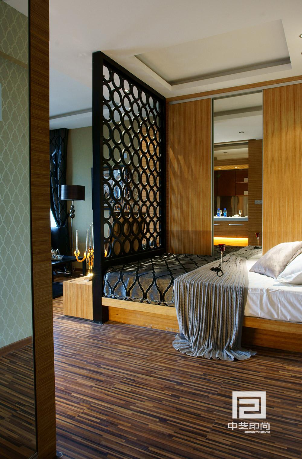 港式 欧式 开间 白领 小资 80后 卧室图片来自中艺印尚在港尚调调·中艺印尚的分享