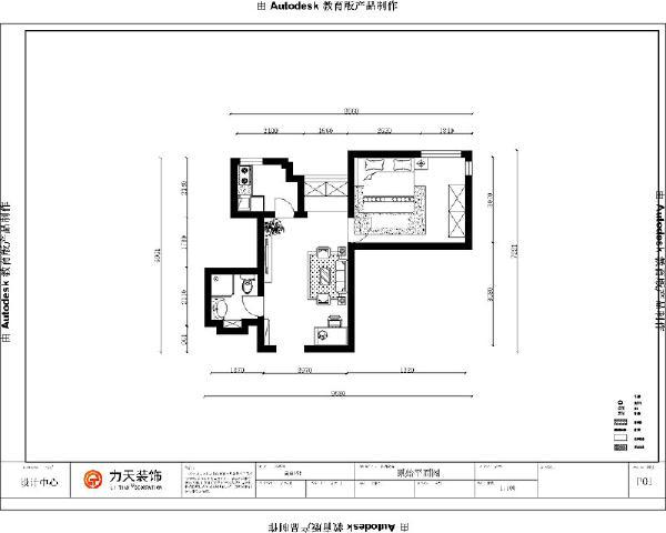 从片面效果图来看,以顺时针方向走,入户门左边即为卫生间,卫生间出来就是客餐厅,宽敞明亮,采光极好,客厅与餐厅相连。餐厅左边为厨房,餐厅的右边就是主卧的部分了。整体户型方正规则,功能划分明确,便于设计。