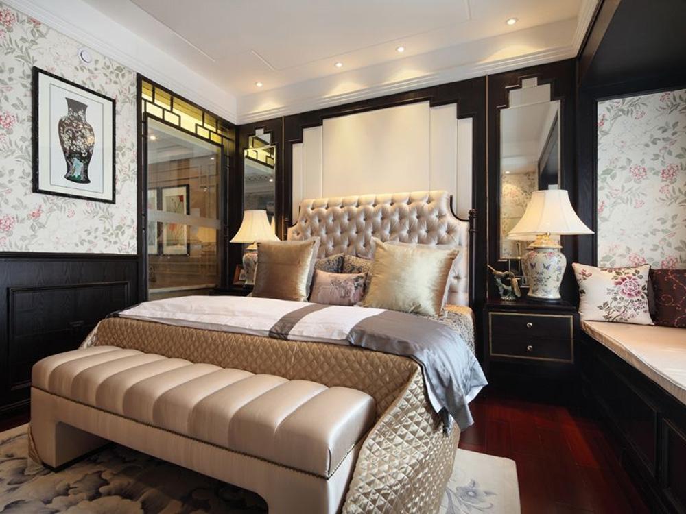 混搭 三居 卧室图片来自tjsczs88在典雅时尚混搭色的分享