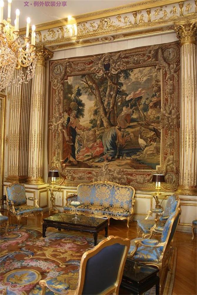 室内设计 软装设计 豪宅设计 室内设计师 时尚生活 软装设计师 卧室设计 客厅设计图片来自例外软装设计在川普是最土豪的美国总统?亮瞎你的分享