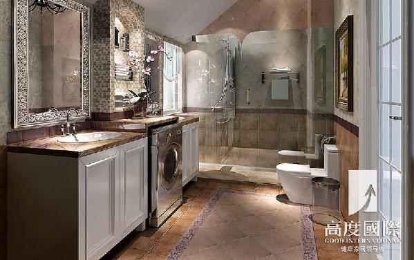 宏达世纪锦城装修-跃层装修---卫生间