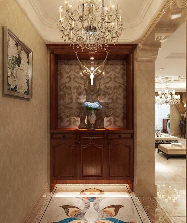 欧式 玄关图片来自乐豪斯装饰马志在奥北公元三期装修效果图的分享