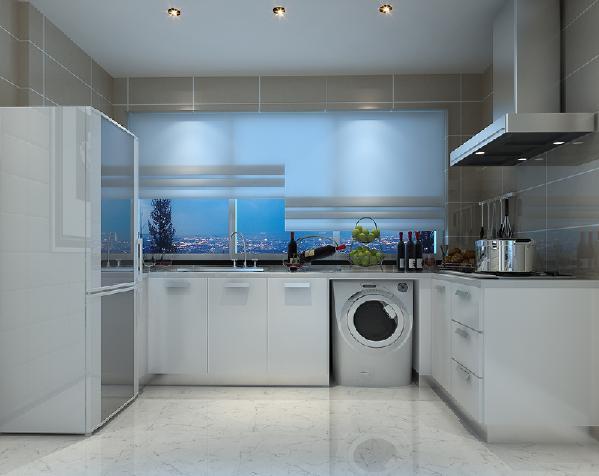 首先是厨房的改造,厨房不会浪费拐角,就餐区域扩大。