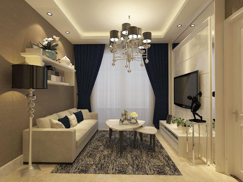 简约 二居 客厅图片来自石家庄阳光力天装饰在润德天悦城-75㎡-简约的分享