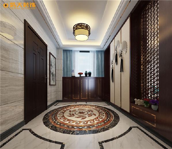 黑、白、灰搭配,黑、红搭配以及红黄等,都是传统中式和新中式色彩搭配,家具配饰上多以线条简练的明式家具为主,家具色调主要为深色调,家具和饰品的造型一般质朴,给人一种古典的感觉。