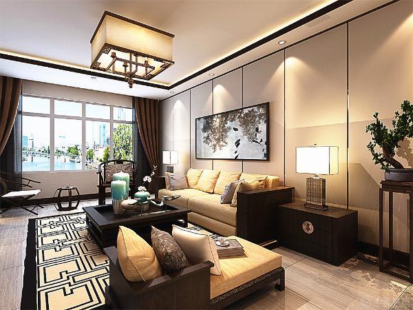 该户型为保利玫瑰花园小区四室两厅一厨两卫户型, 共140平米。在风格定义上因为业主比较喜欢中式风格,但是又觉得中式的风格的配色上比较沉重,所以选定的为新中式风格。