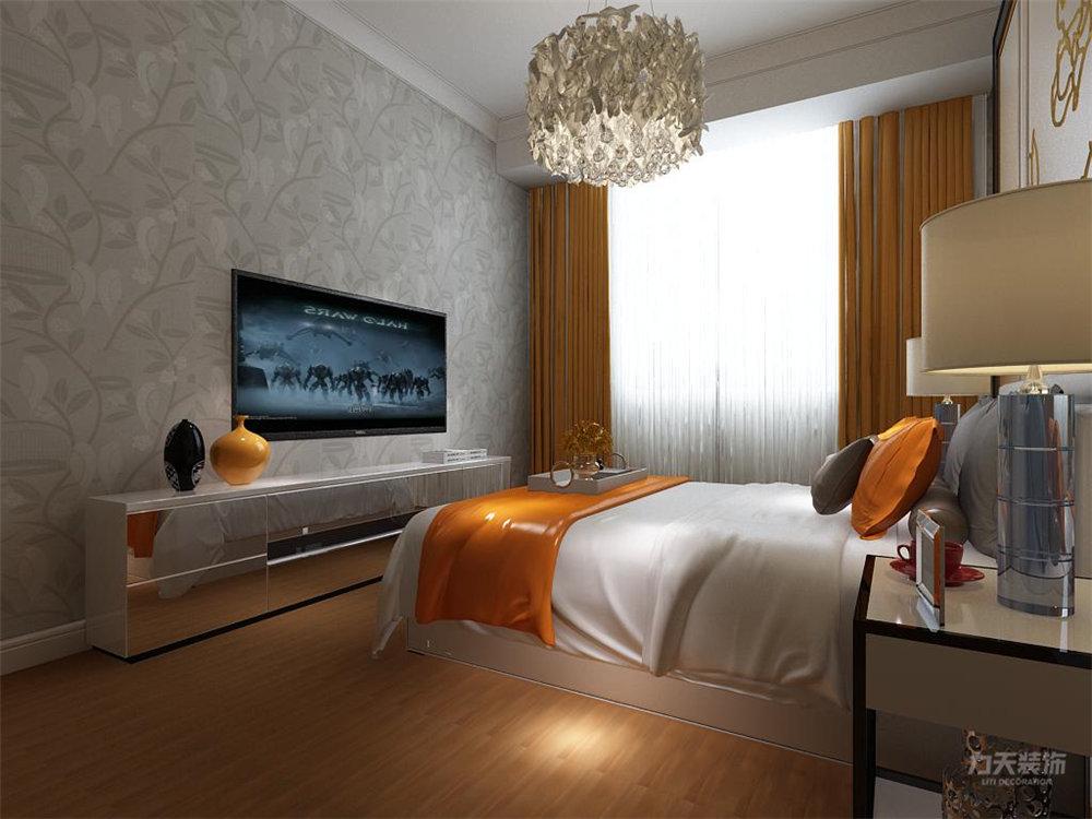 卧室图片来自石家庄阳光力天装饰在瑞府-80㎡-现代简约的分享