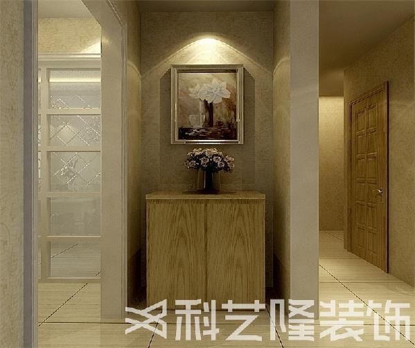 设计上的风格主体偏向于混搭!色调以暖色系为主,再搭配黄木色的家具,整体感官温馨舒适!