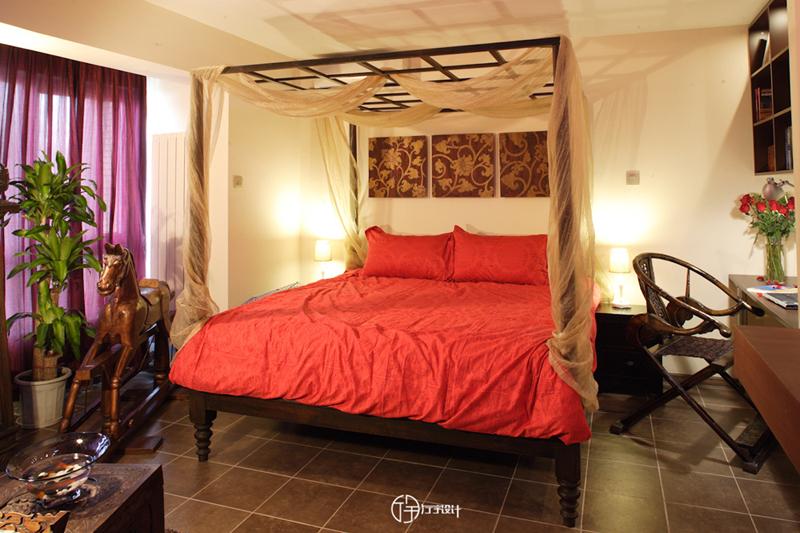 简约 欧式 田园 混搭 东南亚 旧房改造 80后 小资 白领 卧室图片来自厅宇设计在东南亚—厅宇设计出品的分享