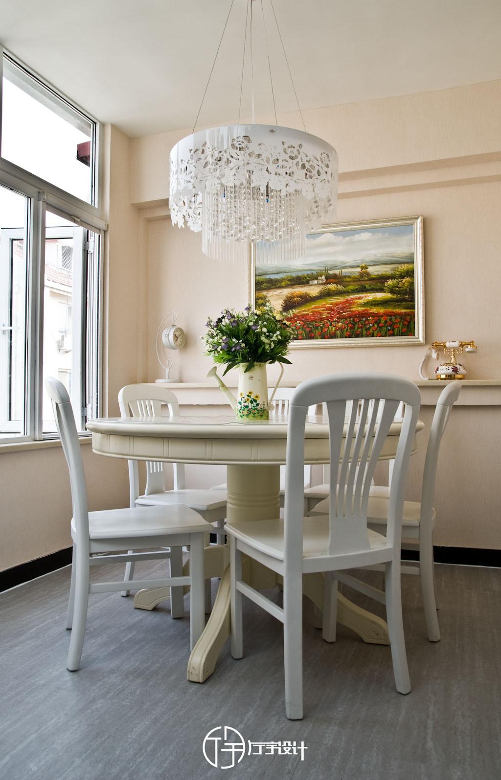 田园 二居 白领 收纳 旧房改造 80后 小资 厅宇设计 餐厅图片来自厅宇设计在简约田园——厅宇设计出品的分享