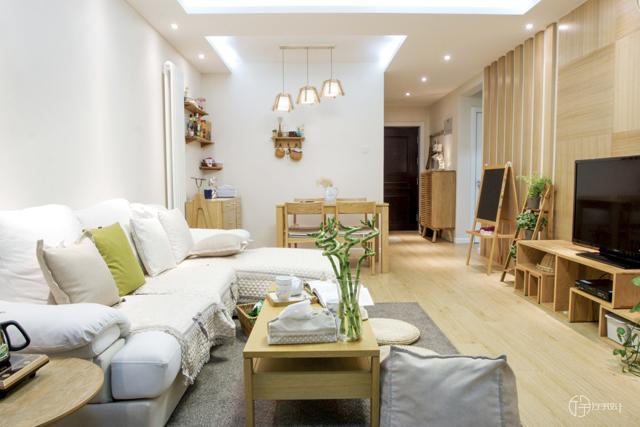 简约 田园 混搭 旧房改造 80后 小资 白领 厅宇设计 客厅图片来自厅宇设计在厅宇出品—城市中的天然简约的分享