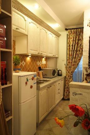 80后 小资 旧房改造 白领 地中海 厅宇设计 厨房图片来自厅宇设计在地中海鼻祖——厅宇设计出品的分享
