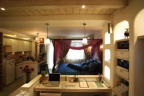 80后 小资 旧房改造 白领 地中海 厅宇设计 书房图片来自厅宇设计在地中海鼻祖——厅宇设计出品的分享