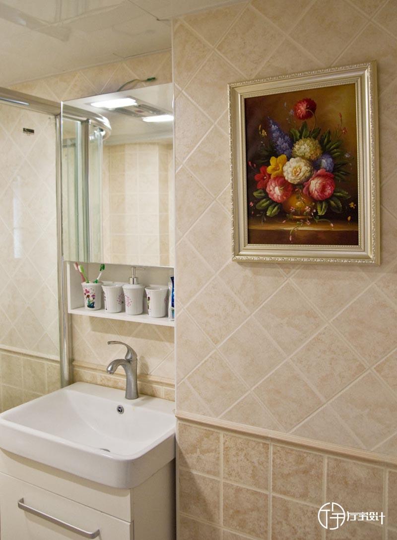 田园 二居 白领 收纳 旧房改造 80后 小资 厅宇设计 卫生间图片来自厅宇设计在简约田园——厅宇设计出品的分享