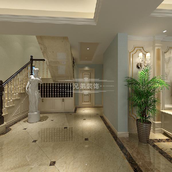 重庆两江春城装修案例,楼梯设计