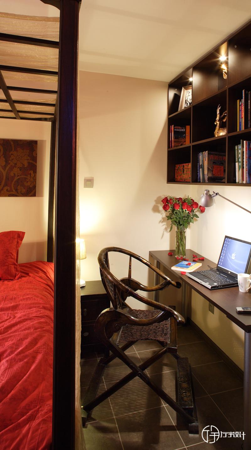 简约 欧式 田园 混搭 东南亚 旧房改造 80后 小资 白领 书房图片来自厅宇设计在东南亚—厅宇设计出品的分享