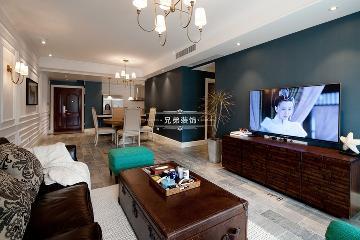 重庆江与城熙溪地装修设计案例