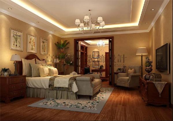 四海云庭212㎡新中式风花园私宅----卧室