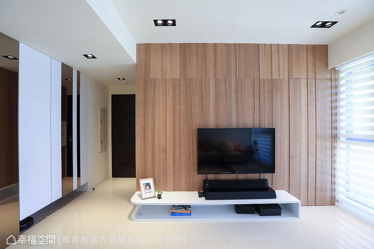 三居 现代 简约 收纳 玄关图片来自幸福空间在暖式木生活转角做收纳转出好风景的分享