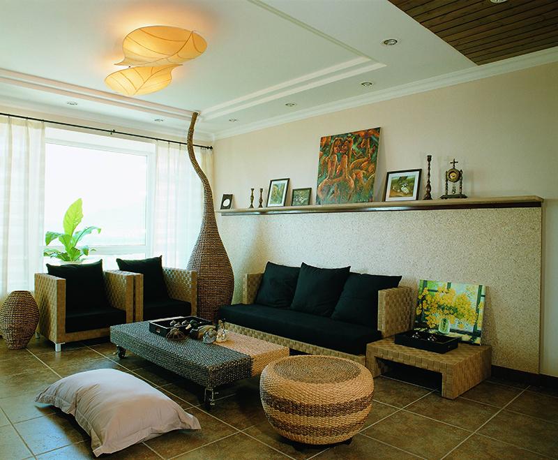 卧室 客厅 三居 田园图片来自苏簌在72平田园风格7万的分享
