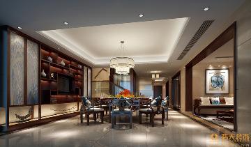浩天装饰东海国际公寓-现代中式