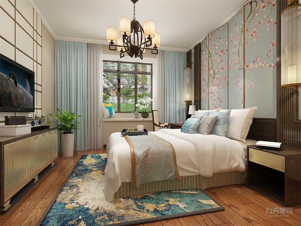 三居 白领 收纳 80后 小资 卧室图片来自阳光力天装饰梦想家更爱家在【力天装饰】首创光和城 104㎡的分享