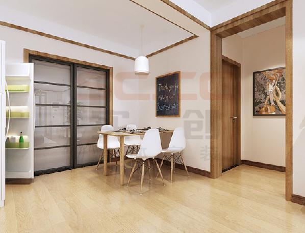 灵活无碍的自由空间。日式小屋的装修追求一种淡雅深邃的意味,讲求贴近自然,所以在选材上也是尽可能的贴近自然的原木材料