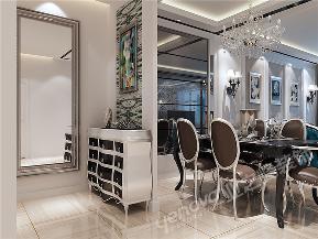 新古典 二居 白领 餐厅图片来自青岛业之峰官方客服--小万在映月公馆珑台 97平 新古典风格的分享