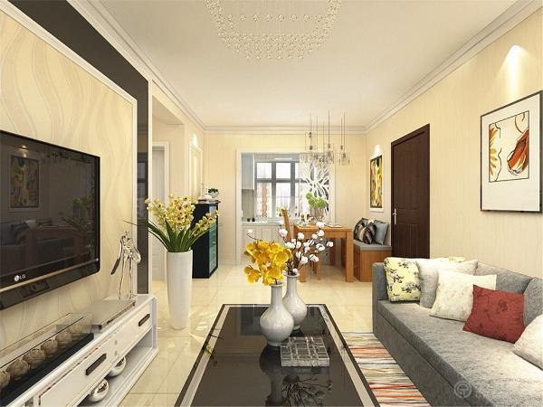 本户型是来自荣雅园2室1厅1厨1卫72㎡的基础户型,采用的是现代简约的设计理念,现代简约风格一直是室内设计领域很热的设计表现手法。