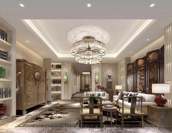南郊中华园新中式风格设计