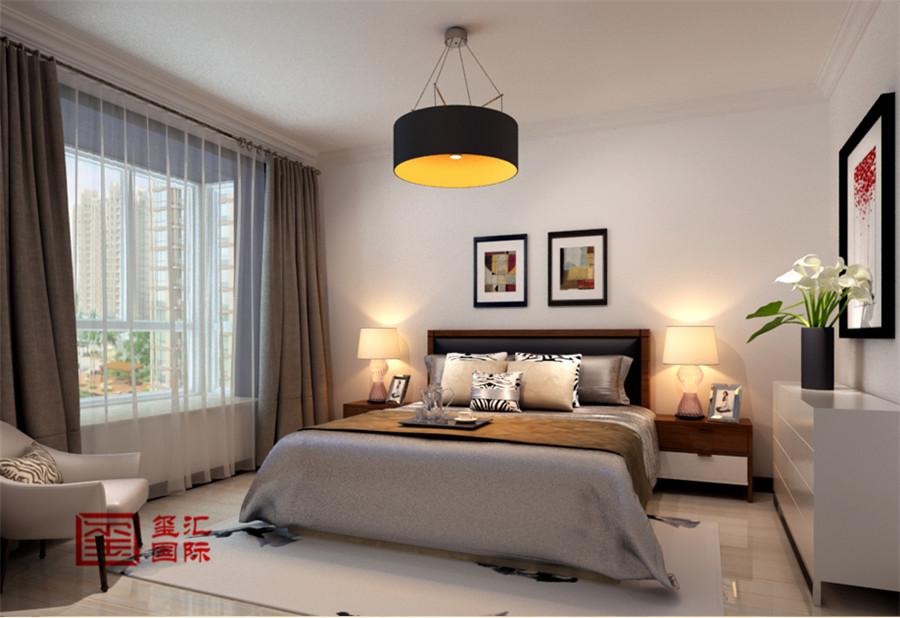 三居 玺汇国际 现代 卧室图片来自河北玺汇国际装饰公司在135平卓达明郡现代风格的分享